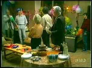 Jim Robinson, Des Clarke, Helen Daniels, Max Ramsay, Douglas Blake, Danny Ramsay in Neighbours Episode 0151