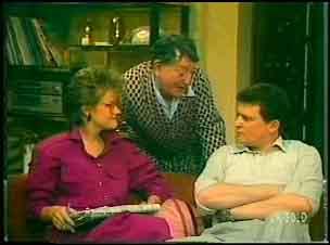 Daphne Clarke, Harry Henderson, Des Clarke in Neighbours Episode 0151
