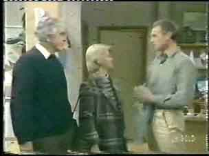 Douglas Blake, Helen Daniels, Jim Robinson in Neighbours Episode 0153