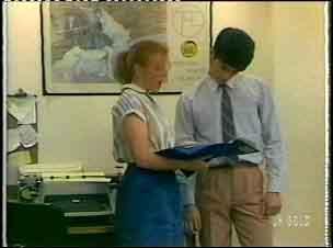 Sarah Richards, Alex Baxter in Neighbours Episode 0154