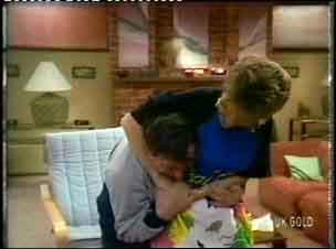 Harry Henderson, Daphne Clarke in Neighbours Episode 0154