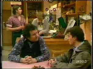 Shane Ramsay, Eileen Clarke, Max Ramsay, Danny Ramsay in Neighbours Episode 0154