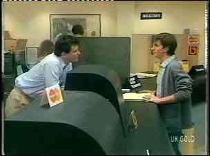 Des Clarke, Danny Ramsay in Neighbours Episode 0154