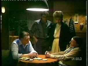 Wally Walters, Shane Ramsay, Daphne Clarke, Harry Henderson in Neighbours Episode 0154