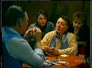 Wally Walters, Shane Ramsay, Harry Henderson, Daphne Clarke in Neighbours Episode 0155