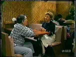 George Young, Eileen Clarke in Neighbours Episode 0155