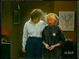 Daphne Clarke, Terry Inglis in Neighbours Episode 0155