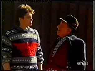 Shane Ramsay, Harry Henderson in Neighbours Episode 0155