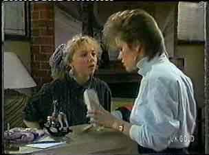 Terry Inglis, Daphne Clarke in Neighbours Episode 0156