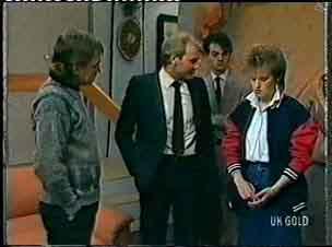 Charles Durham, Daphne Clarke in Neighbours Episode 0156