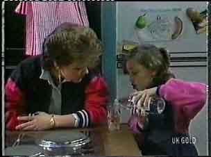 Daphne Clarke, Lucy Robinson in Neighbours Episode 0156