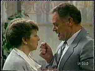 Eileen Clarke, George Young in Neighbours Episode 0157