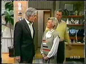 Douglas Blake, Helen Daniels, Jim Robinson in Neighbours Episode 0158