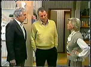 Douglas Blake, Jim Robinson, Helen Daniels in Neighbours Episode 0159