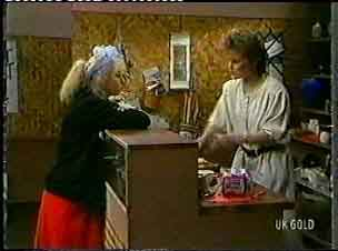 Terry Inglis, Daphne Clarke in Neighbours Episode 0159