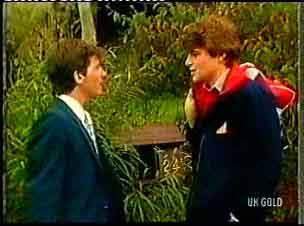 Danny Ramsay, Scott Robinson in Neighbours Episode 0160