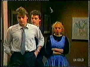 Shane Ramsay, Paul Robinson, Terry Inglis in Neighbours Episode 0160