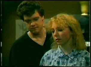 Paul Robinson, Terry Inglis in Neighbours Episode 0161