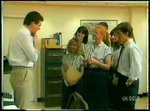 Des Clarke, Sarah Richards, Danny Ramsay in Neighbours Episode 0161