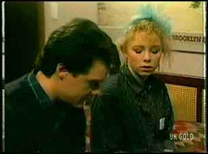 Paul Robinson, Terry Inglis  in Neighbours Episode 0162