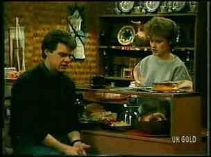 Paul Robinson, Daphne Clarke in Neighbours Episode 0162
