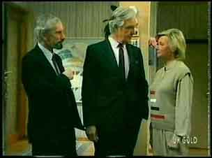 Ross Warner, Douglas Blake, Helen Daniels in Neighbours Episode 0163