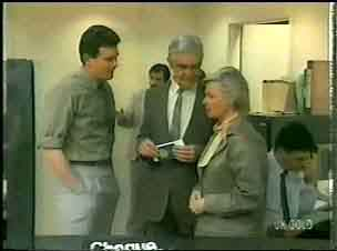 Des Clarke, Douglas Blake, Helen Daniels in Neighbours Episode 0165