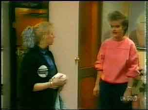 Terry Inglis, Daphne Clarke in Neighbours Episode 0166