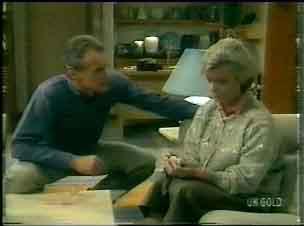 Jim Robinson, Helen Daniels in Neighbours Episode 0166