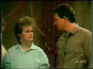 Daphne Clarke, Des Clarke in Neighbours Episode 0167