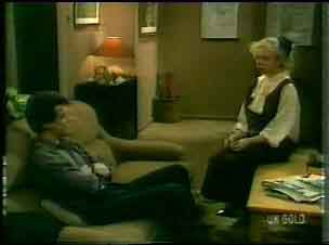 Paul Robinson, Terry Inglis in Neighbours Episode 0167