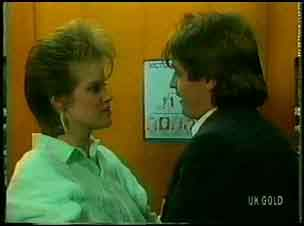 Daphne Clarke, Shane Ramsay in Neighbours Episode 0168