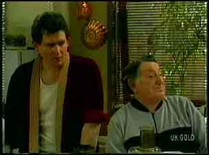 Des Clarke, Harry Henderson in Neighbours Episode 0168