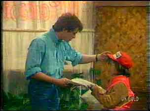 Scott Robinson, Lucy Robinson in Neighbours Episode 0169