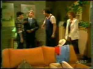 Danny Ramsay, Shane Ramsay, Max Ramsay, Madge Bishop in Neighbours Episode 0171