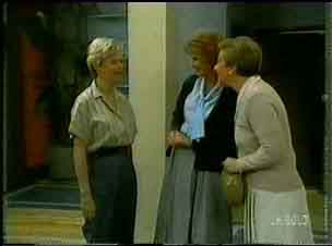 Helen Daniels, Madge Mitchell, Eileen Clarke in Neighbours Episode 0173