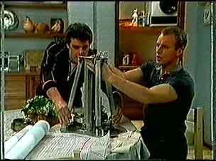 Paul Robinson, Jim Robinson in Neighbours Episode 0174
