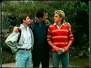 Danny Ramsay, Max Ramsay, Shane Ramsay in Neighbours Episode 0174