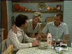 Paul Robinson, Helen Daniels, Jim Robinson in Neighbours Episode 0175