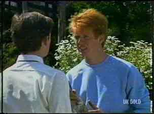 Danny Ramsay, Clive Gibbons in Neighbours Episode 0176