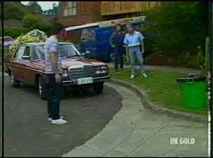 Paul Robinson, Max Ramsay, Shane Ramsay in Neighbours Episode 0176