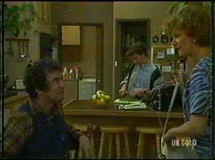 Max Ramsay, Danny Ramsay, Madge Bishop in Neighbours Episode 0176