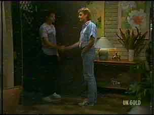 Paul Robinson, Shane Ramsay in Neighbours Episode 0176