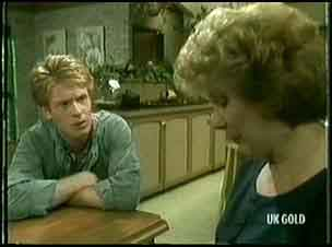 Clive Gibbons, Madge Bishop in Neighbours Episode 0177