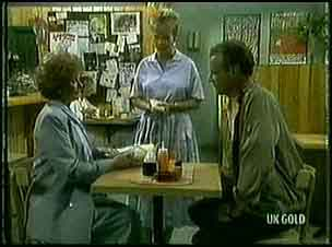 Madge Bishop, Daphne Clarke, Jim Robinson in Neighbours Episode 0178