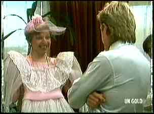Eileen Clarke, Shane Ramsay in Neighbours Episode 0180