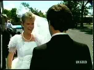 Daphne Clarke, Paul Robinson in Neighbours Episode 0180