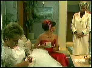 Daphne Clarke, Zoe Davis, Helen Daniels in Neighbours Episode 0181
