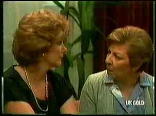 Madge Bishop, Eileen Clarke in Neighbours Episode 0181