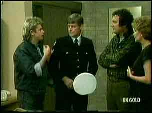 Shane Ramsay, Police Officer, Max Ramsay, Madge Bishop in Neighbours Episode 0181